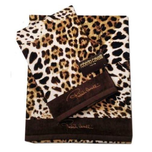 4b48094545 Coppia asciugamani ROBERTO CAVALLI HOME linea BRAVO - Face Shop
