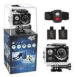 Action Cam, Meerveil WIFI Action Kamera Sport Kamera 4K Handgelenk RF Sport-Kamera Ultra HD 30M...