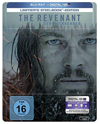 The Revenant: Der Rückkehrer - Steelbook [Limited Edition] (+ Digital Copy) [Blu-ray]  (Digitale Uv-kamera)