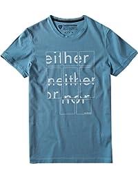 Strellson Sportswear Herren T-Shirt J-Tanek-2 Modisch, Größe: M, Farbe: Blau