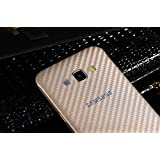 ikazen 3D Carbon Fiber Back Body Film Sticker Wrap Skin For Samsung Galaxy A7 / A7 2015 - Transparent