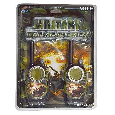 Serie Military War Force Sprechanlagen batteriebetrieben Walkie Talkie Set Hohe
