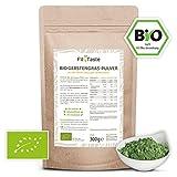 Fit4Taste Bio Gerstengras Pulver   Superfood   Bio Qualität   Ballaststoffreich   300 g
