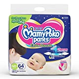 #6: MamyPoko Pants for New Born, One Size, Pack of 64