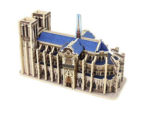 w-Great Architecture of The Mini World-Harbour Bridge (Notre Dame De Paris), Home Decor-Architectural Setting-Amazing Accessoires, Children and Teens, Crafts, Crafts,B ()