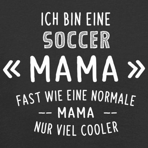 Ich bin eine Soccer Mama - Herren T-Shirt - 13 Farben Schwarz