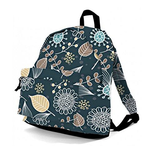 Imagen de benzi–unisex  gimnasio escuela bolsa de viaje cabina equipaje de mano 20l, flores multicolor  bz 4059