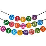 J*dido Feliz Cumpleaños – Guirnalda de Cumpleaños Divertida – Guirnalda de 21 Cumpleaños – Cumpleaños de los 30 – Productos para Fiestas de Calidad Superior de Sterling James Co.