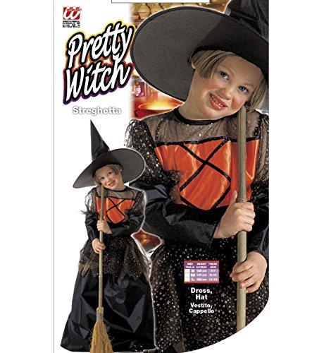 Imagen de niñas pequeña bruja deluxe 128cm niño disfraz pequeño 5.7 años 128cm para los disfraces de halloween alternativa