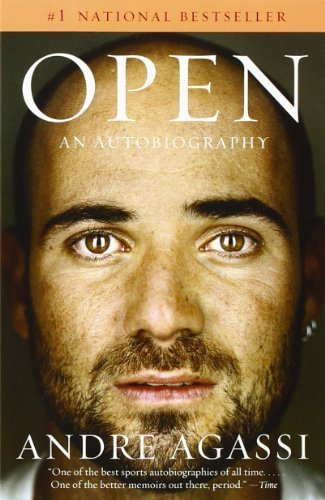 Portada del libro Open: An Autobiography by Andre Agassi (2010-08-10)