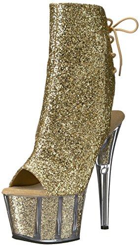 Pleaser ADORE-1018G Gold Glitter/Gold Glitter