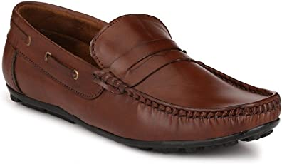 Big Fox Men''''s Synthetic Leather Loafers'''
