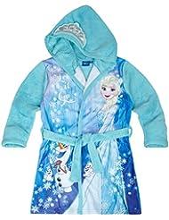 Disney La Reine des neiges Fille Robe de chambre à capuche polaire, toucher doux 2016 Collection - bleu