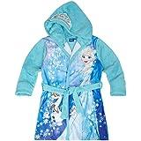 Disney El reino del hielo Chicas Bata de baño con capucha Coral fleece 2016 Collection - Azul