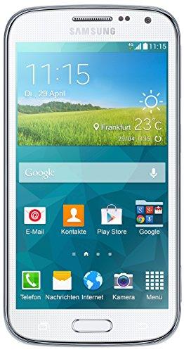 Samsung Galaxy K zoom C115 Smartphone (12,2 cm / 4,8 Zoll HD Super-AMOLED-Display, 8 GB interner Speicher, 20,7 Megapixel Kamera, 10-fach optischer Zoom, Android 4.4) Shimmery-white / weiß