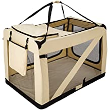 TecTake Transportín plegable para perros jaula de transporte bolsa viaje - varias tamaños - (XXXXL - 121x77x79 | no. 401043)