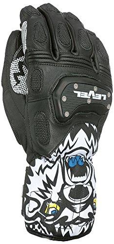 Level Herren SQ CF Handschuhe, Black, 8.5