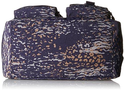 Kipling DEFEA K13636, Borsa a tracolla donna 33x24x19 cm Multicolore (Water Camo)