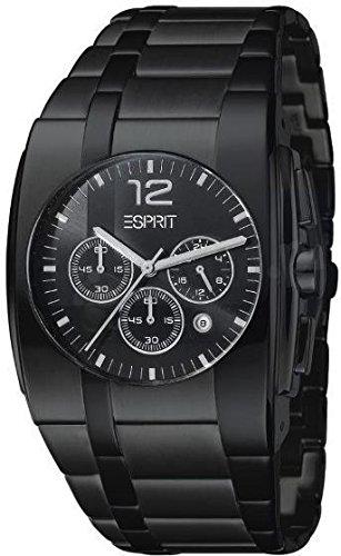 Esprit Herren-Armbanduhr Analog Quarz Edelstahl ES101061002