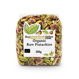 Organic Pistachio Nuts 250g