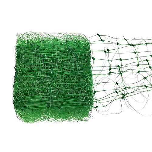 takefuns, rete da giardino a graticcio, rete per coltivare fiori verdi, cetrioli, pomodori, fagioli e vite, recinzione a rete per favorire una crescita forte, pp, green-6x59ft