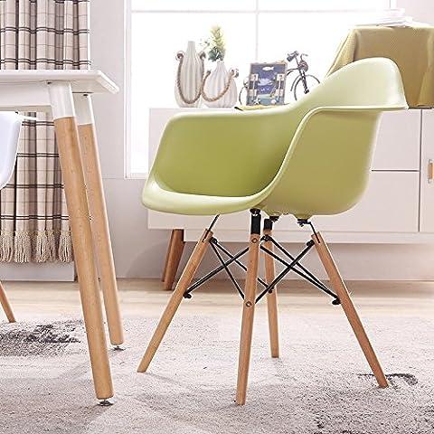Sedia Eames sedie di plastica di stile moderno minimalista sgabello Poltrona scrivania Home Computer sedia sedia spazi verdi per il tempo libero
