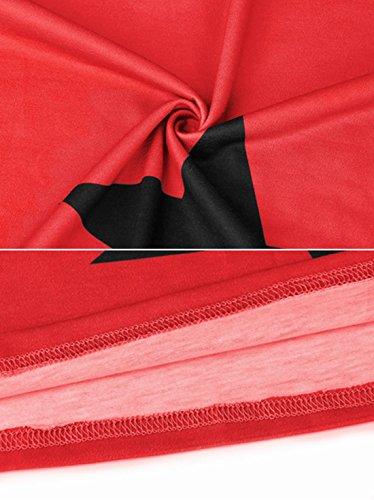 ... Lylafairy Schulterfrei Elegante Oberteile Tunika Lose Asymmetrisch  Herbst Winter langarmshit Beiläufige Kleidung Blusen Tops Sweatshirt  Pullover 81b039b8ce