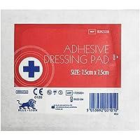 Blue Lion Wundkompresse, selbstklebend, hypoallergen, steril, 7,5 x 7,5 cm, 100 Stück preisvergleich bei billige-tabletten.eu