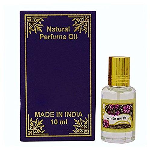 Weißes Moschus-Duftöl 100% reine natürliche Parfümöle Amber Weißen Körper-öl
