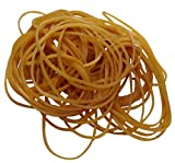 Aerzetix: 100gr Gummibänder Gummiringe Elastische Bänder Φ50mm 100% Naturkautschuk ca. 280 Stück C17192