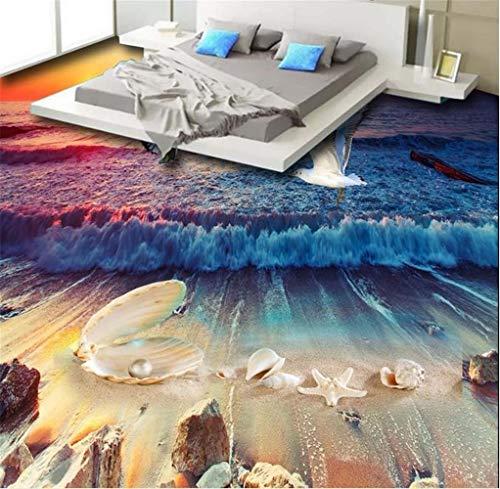 Liwenjun Wallpaper Strand Shell Pearl Wallpaper 3D Stock Wohnzimmer