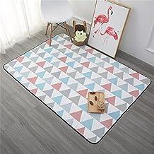 ALUK- Sala de estar minimalista moderna nórdica Dormitorio de alfombra Cama de cabecera Mesa de centro rectangular gruesa Alfombra de sofá ( Tamaño : 150cm*200cm )
