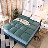 Best Dormir Colchones - MUZIDP Color sólido Colchón,con Las Correas elásticos Esquina Review