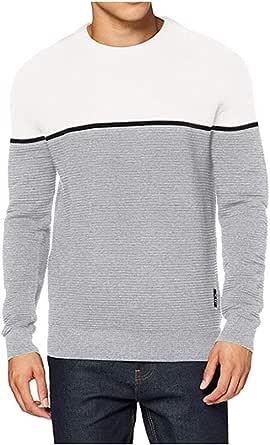 Jack & Jones Men's Jorbrit Knit Crew Neck Sweater