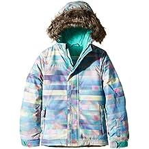 O'Neill Pg Radiant, Chaqueta de esquí para niña, Multicolor (Blue Aop), 140, 555075