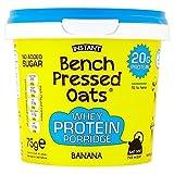 Oomf Oomf! Premuto Banco Avena Ricca Di Proteine ??Di Banana 75g (Confezione da 6)