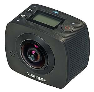 TecTecTec XPRO360+ Camera 360 Haute Résolution - 360 degrés avec double lentilles grand angle
