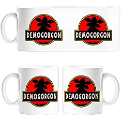 Taza Stranger Things Demogorgon Jurassic Park - Cerámica