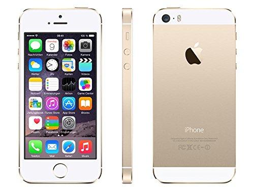 Apple iPhone 5S Smartphone 16GB (10,2 cm (4 Zoll) IPS Retina-Touchscreen, 8 Megapixel Kamera, iOS 7) Gold - 2