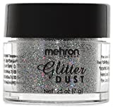 #6: Mehron Glitter Dust - Holographic Silver H (0.25 oz/7 gm)