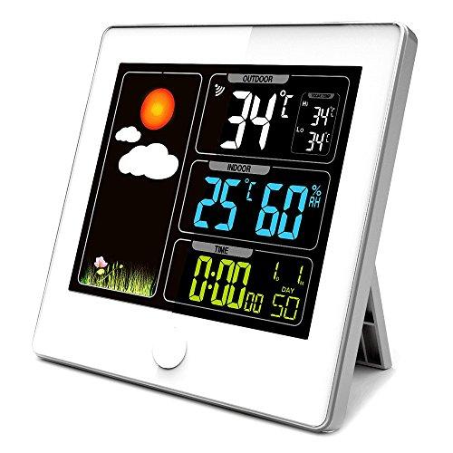 Wetterstation LCD-Display Farbe - DIALOG - Außensensor