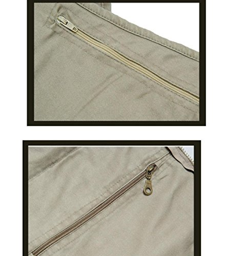 Grandi Dimensioni Multi-pocket Multi-tasca Maglia Di Pesca Fotografia Maschile LAIDASHU 4