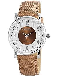 Excellanc Damen-Armbanduhr Analog Quarz verschiedene Materialien 195022100179