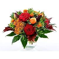 Blumenversand - Blumenstrauß versenden - zur Genesung - Herbststimmung - mit Gratis - Grußkarte bundesweit versenden