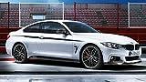 Original BMW M Performance Schwelleraufsatz schwarz matt 4er F32 / F33 / F36