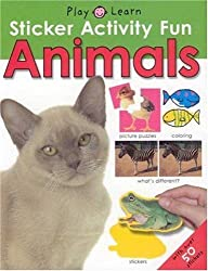 Animals [With Stickers] (Play & Learn Sticker Activity Fun)