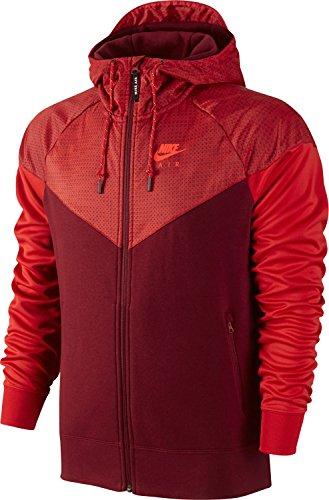 Nike Herren Sweatshirt HYBRID FLC wr-air rot