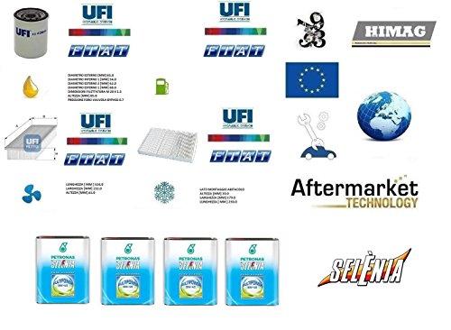 Kit Filtri Tagliando UFI + 4 Litri Olio Selenia 5W40