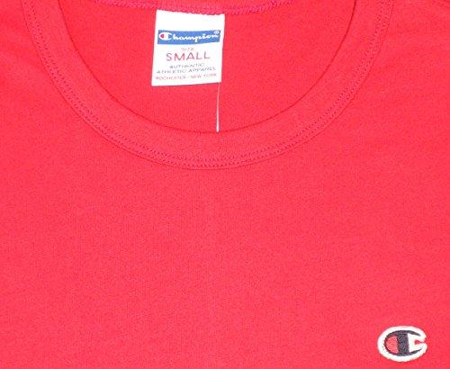 champion Crewneck C T-Shirt scarlet red