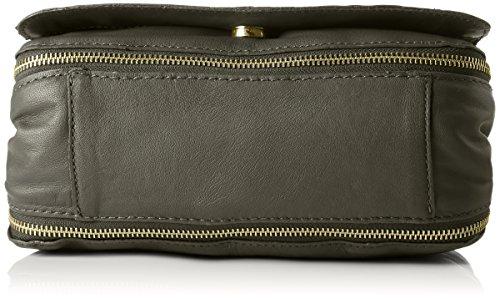 PIECES - Pcjase Leather Cross Body, Borse a tracolla Donna Verde (Dark Olive)
